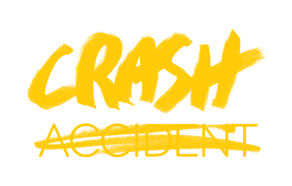 Crash Not Accident logo